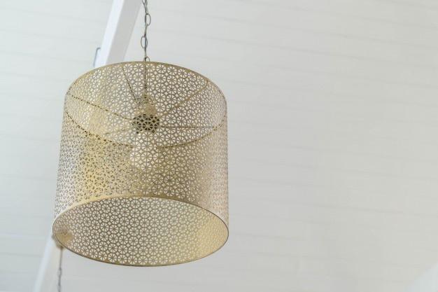 guld lampe