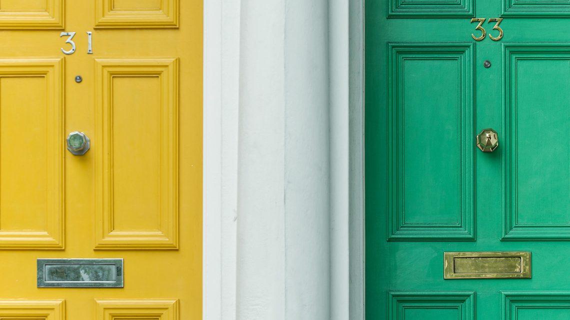 Understreg jeres indretning med de rigtige døre